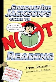 Charlie Joe Jackson's Guide to Not Reading book cover image